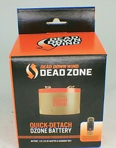 Dead Down Wind Dead Zone DZONE Rechargeable Battery with Charger NEW s4