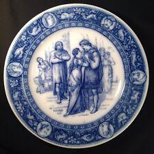 Wedgwood Ivanhoe Flow Blue Dinner Plate