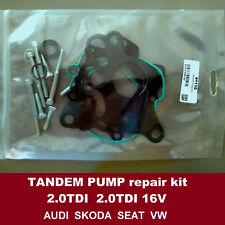 Fuel vacuum tandem pump seals kit Audi VW Skoda Seat 2.0TDI 91110 03G145209C