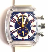 ET ELBA TEAM LOCMAN CHRONOGRAPH WATCH ET370 BLUE/WHITE, NWT, BOXED,  $350