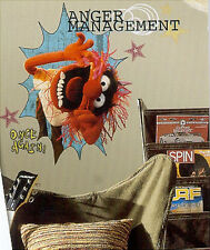 "THE MUPPETS ANIMAL wall stickers MURAL 10 decals Disney room decor 24""x16"""
