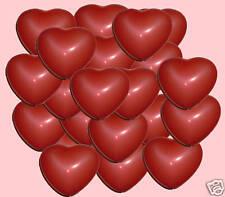 100 palloncini CUORI ROSSI cuore SAN VALENTINO elio s LAUREA anniversario 35 cm