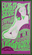 BG-36 Bola Sete,Country Joe & The Fish 1966 Original Fillmore Wes Wilson Poster
