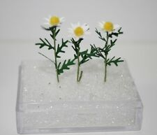 """1"""" scale Daisy sold by the stem handmade"""