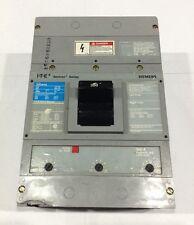 JXD63B300 Siemens ITE Type JXD6 Circuit Breaker 3 Pole 300 Amp 600V (Small Chip)