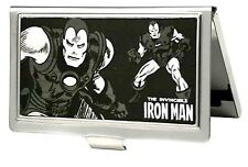 Marvel Comics Business Card Holder -THE INVINCIBLE IRON MAN Action Poses -(0002)
