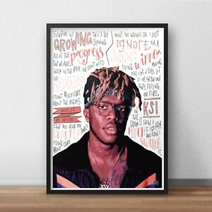 KSI Poster / Print / Wall Art A5 A4 A3 / Youtuber / Rapper / Poppin / Houdini