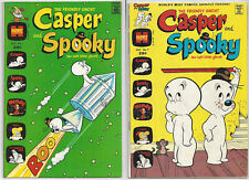 CASPER & SPOOKY #1 & #7 | 1973-74 | Two Bronze-Age Harvey Comics | Nice