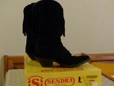 VERITABLES BOTTES SANTIAGS SANDRA  FEMME WESTERN COUNTRY TAILLE 38