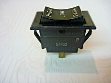 Thomas Bus Rocker Wiper Switch, 4 Blade Part # S4403 Rocker Switches
