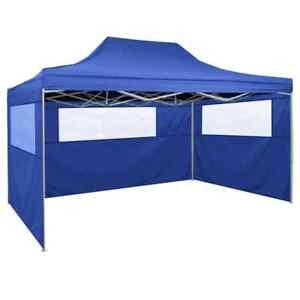 Tenda per tendone per Gazebo per Esterni con Pannelli Laterali LYXMY Tenda per tendone per Gazebo da Giardino Tenda per stalla Pieghevole Pieghevole Impermeabile in Tessuto Oxford