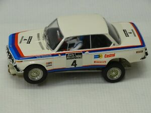 BMW    2 0 0 2   turbo rally 1/32  SLOT CAR body needs fitted to custom CHASSIS