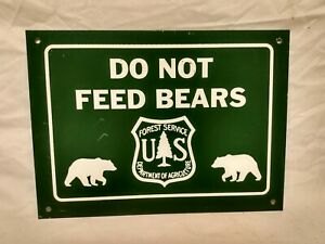 Old Forest Service Sign LIMIT OF USE  11x14