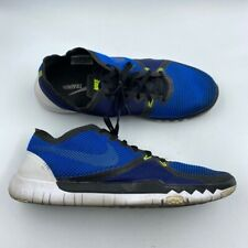 Nike Free Trainer 3.0 V4 Mens Training Shoes Blue Lace Up Low Top 749361-404 11