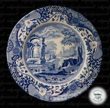 Spode Copeland Porcelain & China Dinner Plate Blue