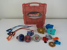 Beyblade Metal Masters Carry Case Bundle with Beyblades Accessories & Equipment