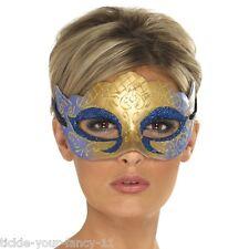 Women's Venetian Farfalla Glitter Mask Masquerade Fancy Dress Party Ball Hen Fun