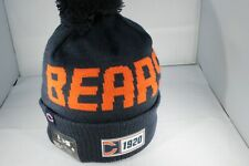 New Era Onfield NFL19 Sports Knit Chicago Bears Bobble Ski Hat -Navy (BNWT)