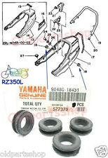 Yamaha RD350YPVS RZ350 Tail Piece Grommet x4 NOS Seat Cover Rubber Damper SEAL