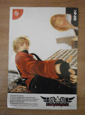 GAROU MARK OF THE WOLVES FATAL FURY - SEGA DREAMCAST POST CARD