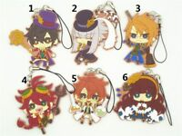 Code Realize Anime Figure Rubber Strap Phone Charm Bag Pendant Keychain Key Ring
