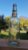 Vintage 1899 PRE-PRO Miller Muenchener Beer Bottle & Stopper Old label Milwaukee