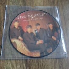 "THE BEATLES-si prega di me 7"" PICTURE DISC PARLOPHONE EX"