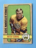 Butch Goring 1972-73 O-Pee-Chee Hockey Card #56 Los Angeles Kings