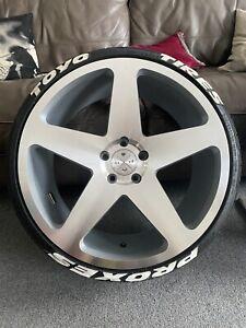 4 X 20 Inch 5x112 BD15 Blaque Diamond Alloy Wheels With 4 X Toyo Proxes Tires