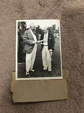 KNUTE ROCKNE Notre Dame Type 1 1930 Original Press Photo Graded 10 GEM MINT COA