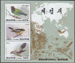 Korea (N) - 1996 - MNH - (MS 3846-3848) Birds