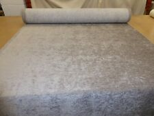 Silver Grey - Stylish Chenille Upholstery Fabric