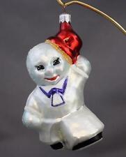 Christopher Radko Ice Man Cometh 1994 Ornament 94-063-0 Sailor Snowman Glass