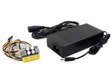 standard picoPSU-160-XT w/AC-DC 12V 180W 16A switching adapter barrel connector