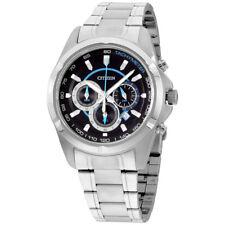 Citizen Black Dial Stainless Steel Men's Watch AN8040-54L