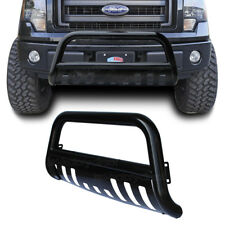 Black Bull Bar Bumper Grille Guard for 04-17 Ford F150/ 03-17 Ford Expedition