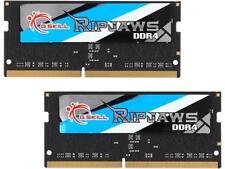 G.SKILL Ripjaws Series 8GB (2 x 4GB) 260-Pin DDR4 SO-DIMM DDR4 2400 (PC4 19200)