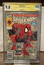 Spider-Man 1#1 (1990) CGC SS 9.8 - Signed Stan Lee, McFarlane, Holland! MCU Hot!