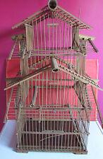 ancienne cage a oiseaux ANNEES 60 70