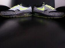 Nike Air Max 1 Premium 2008 DJ Clark Kent 112 Black/Neon Yellow Size 10.5 (New!)