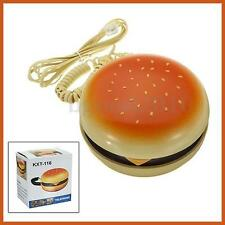 Novetly Hamburger Cheeseburger Burger Shape Corded Fun Home Desk Telephone New