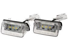 2x REAR NUMBER LICENSE PLATE LIGHT LAMP LED FOR PEUGEOT 206 207 307 308 406 407
