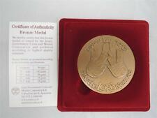 "1988 ISRAEL PRIESTLY BLESSING-""MAY THE LORD BLESS YOU"" STATE MEDAL 59mm BRONZE"