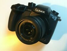 Panasonic Lumix GH5 with 25mm 1.7 lens, 5 batteries, 128gb SD, bag, original box