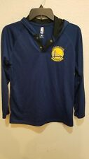 Golden State Warriors Polyester Hooded Shirt Size Youth L (14-16) NBA