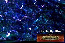 M00224 MOREZMORE Angelina Fantasy Film BUTTERFLY BLUE Heat Bondable 50'