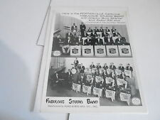 #902 VINTAGE 8x10 MUSICIAN PHOTO - FABULOUS STUDIO BAND Porterville CA