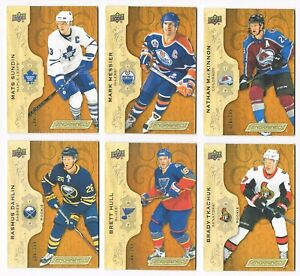 2018-19 Upper Deck Engrained Base Set with Rookies #/299 Pick From List !!
