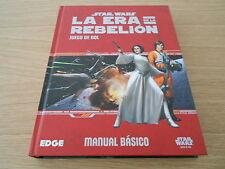 STAR WARS LA ERA DE LA REBELION - Básico - juego de rol - EDGE - FF