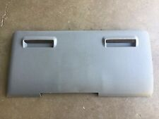2005-2007 FORD F250 F350 SUPER DUTY DASH FUSE KNEE PANEL PLATE COVER GRAY